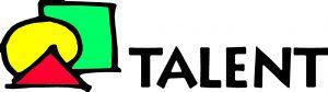 Logo Talent mit Schrift Web